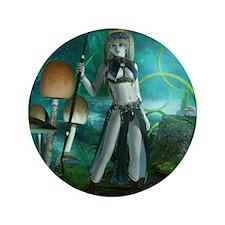 """Elvin Warrior 3.5"""" Button (100 pack)"""