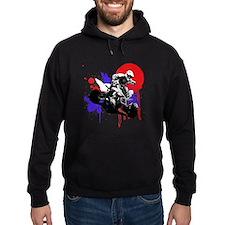 Red Splatter ATV Hoodie
