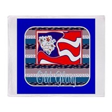 Old Glory Throw Blankets