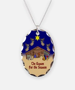 Square or Round Reason for the Season Necklace