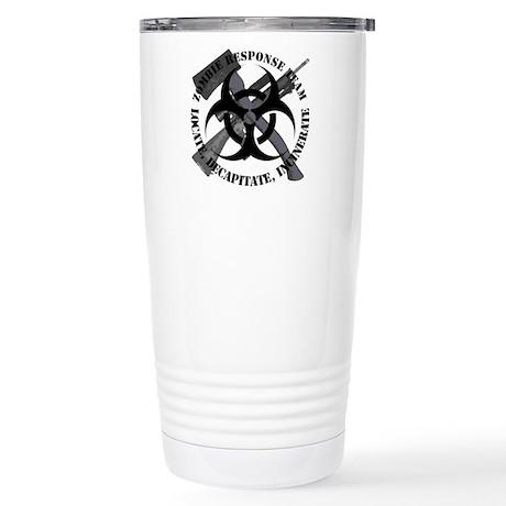 Zombie Response Team Stainless Steel Travel Mug
