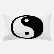 Black Yin Yang Pillow Case