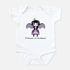 Princess of Darkness Gothic Baby Onesie