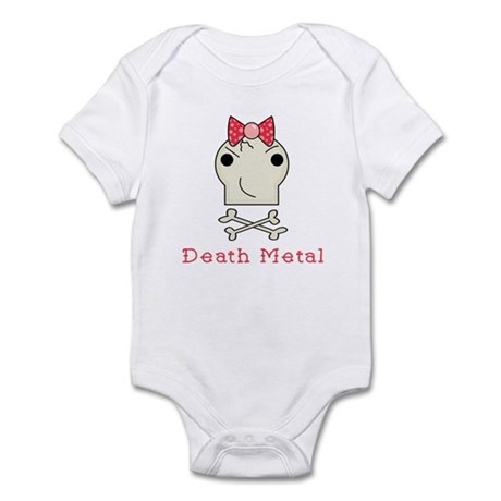 Death Metal Baby Girl Onesie