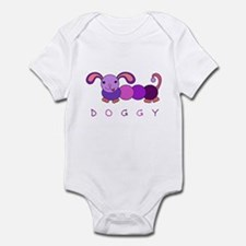 Doggy Poof Ball Dog Onesie for Girls