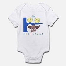 'Be Different' Bat and Birds Onesie