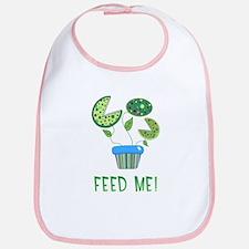 'Feed Me!' Venus Flytrap Baby Bib