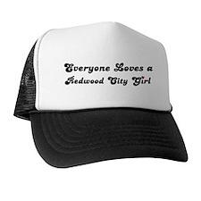 Redwood City girl Trucker Hat