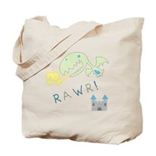 Rawr! Dragon 2-Sided Tote Bag