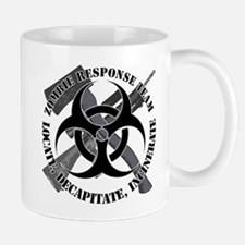 Zombie Response Team White Border Mug