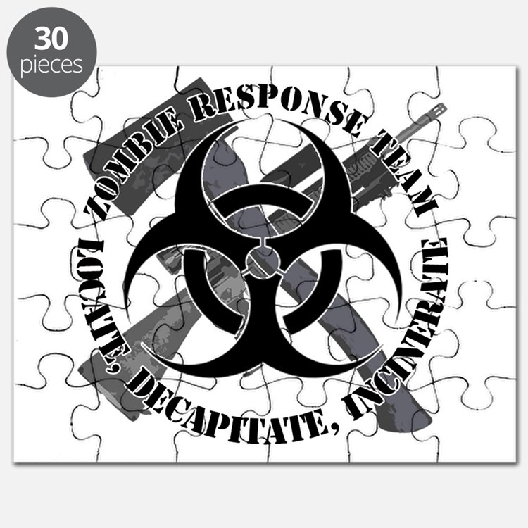 Zombie Response Team White Border Puzzle