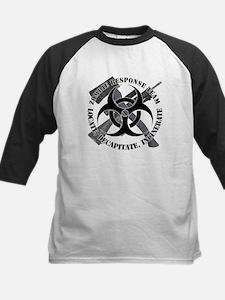 Zombie Response Team White Border Tee