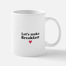 Let's Make Breakfast Coffee/Donut Mug