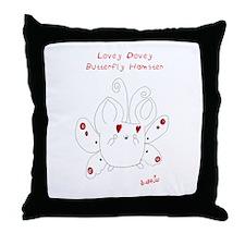 Lovey Dovey Butterfly Hamster Pillow