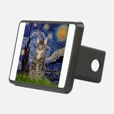 Starry Night & Tiger Cat Hitch Cover