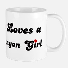 Mission Canyon girl Small Small Mug