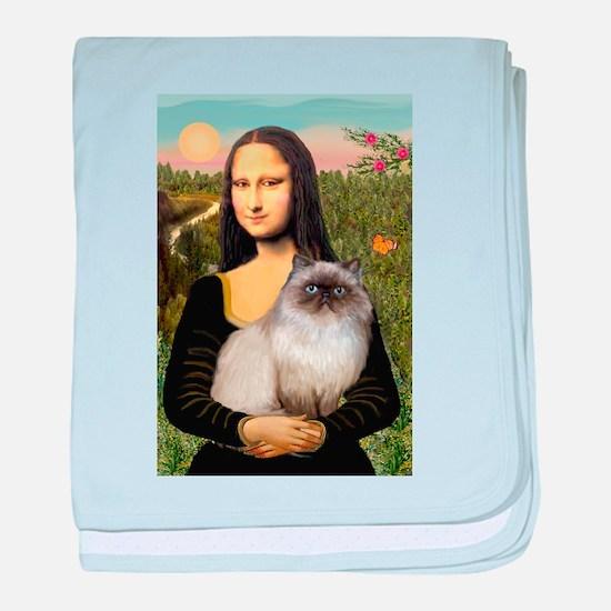 Mona's Himalayan Cat baby blanket
