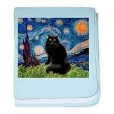 Starry Night /Persian (bl) baby blanket