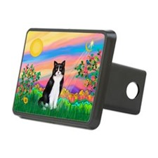 Day Star / (B&W) Cat Hitch Cover