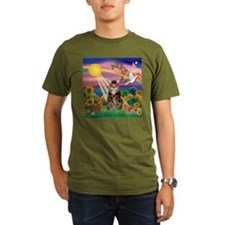 Autumn Sun / Tab Tiger Cat T-Shirt