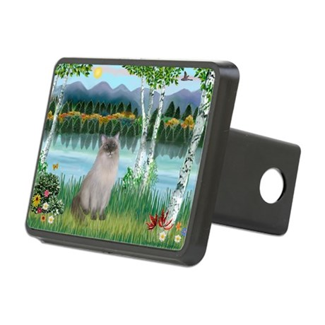 Birches / Ragdoll Rectangular Hitch Cover