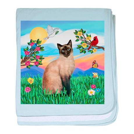 Bright Life / Siamese baby blanket