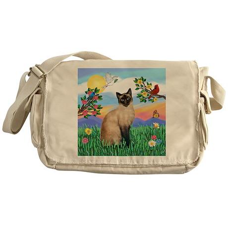 Bright Life / Siamese Messenger Bag