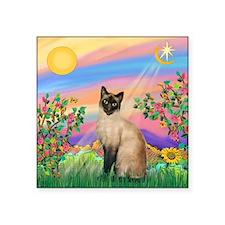 """Day Star / Siamese Square Sticker 3"""" x 3"""""""