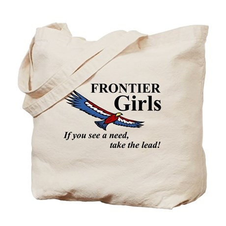 Frontier Girls Motto - Color Tote Bag