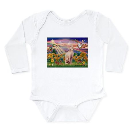 AUTUMN ANGEL Long Sleeve Infant Bodysuit