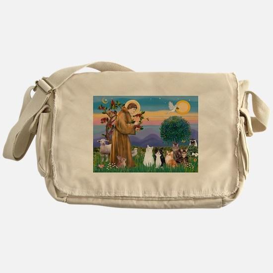 Sister Frances' - 5 Cats Messenger Bag