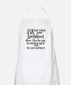 Ask Not Architect Apron