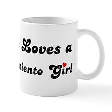 Lake Nacimiento girl Mug