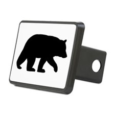 Black Bear Hitch Cover