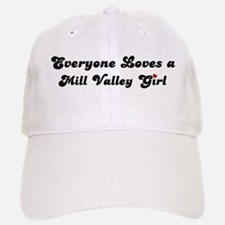 Mill Valley girl Baseball Baseball Cap