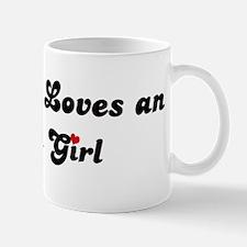 Ukiah girl Small Small Mug