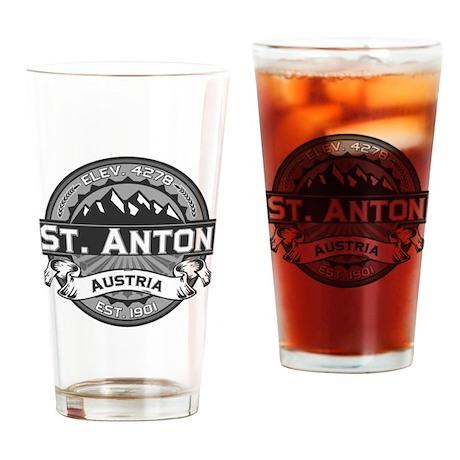 St. Anton Grey Drinking Glass