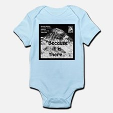 Mallory Because Quote 2 Infant Bodysuit