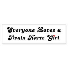 Twain Harte girl Bumper Bumper Sticker