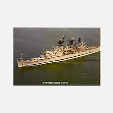 USS SPRINGFIELD Rectangle Magnet