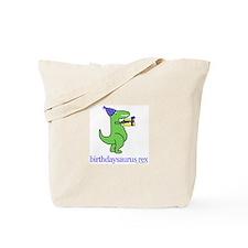 1-year-old Birthdaysaurus Rex Tote Bag