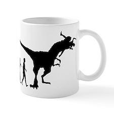 Eaten By Dinosaur Small Mug