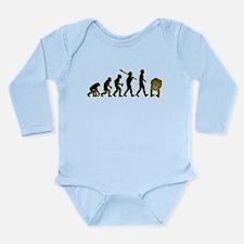 Head Up Ass Long Sleeve Infant Bodysuit
