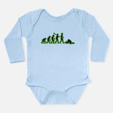 Head in Sand Long Sleeve Infant Bodysuit