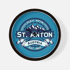 St. Anton Ice Wall Clock