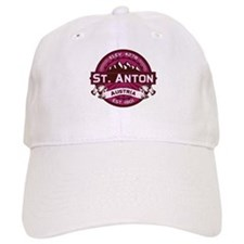 St. Anton Raspberry Baseball Cap