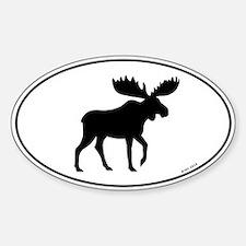Moose Sticker (Oval 10 pk)