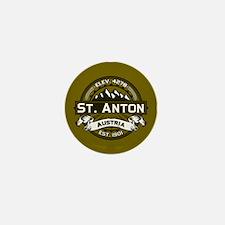 St. Anton Olive Mini Button