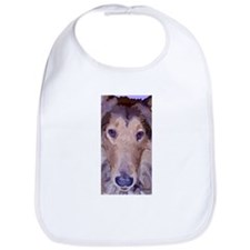 Collie Dog Sweet Face Bib