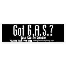 Got G.A.S.? Bumper Sticker